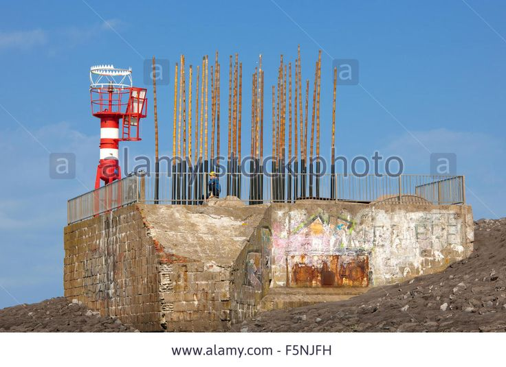 Wind Organ In Vlissingen Built On A Old German Ww2 Bunker Stock Photo, Picture And Royalty Free Image. Pic. 89600661