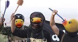Photoshopping Rubber Duck Heads onto ISIS Internet Mocks Sick Terror Group  Photos