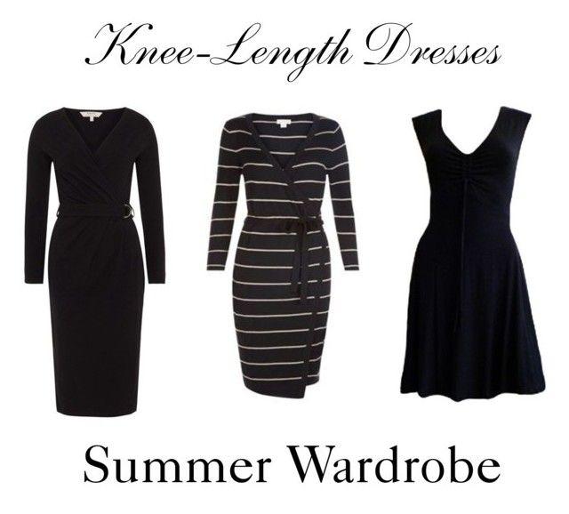 Knee-Length Dresses ~ Summer Wardrobe by chicgoddess88 on Polyvore