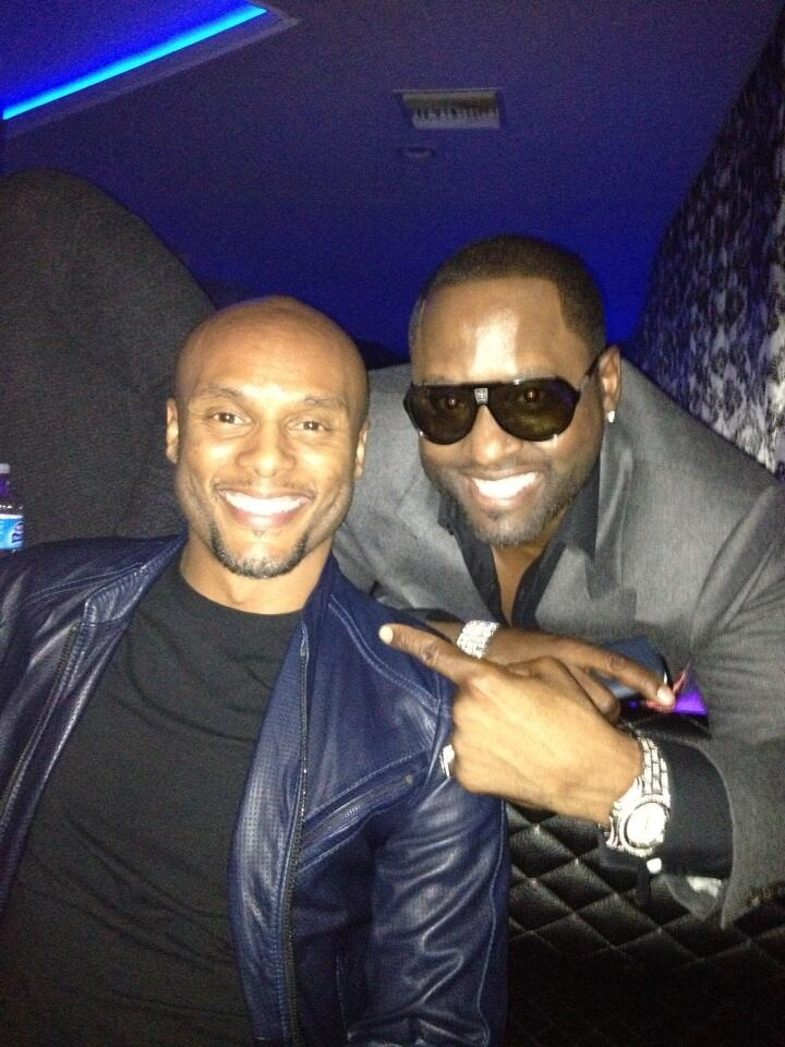 Me and Johnny Gill