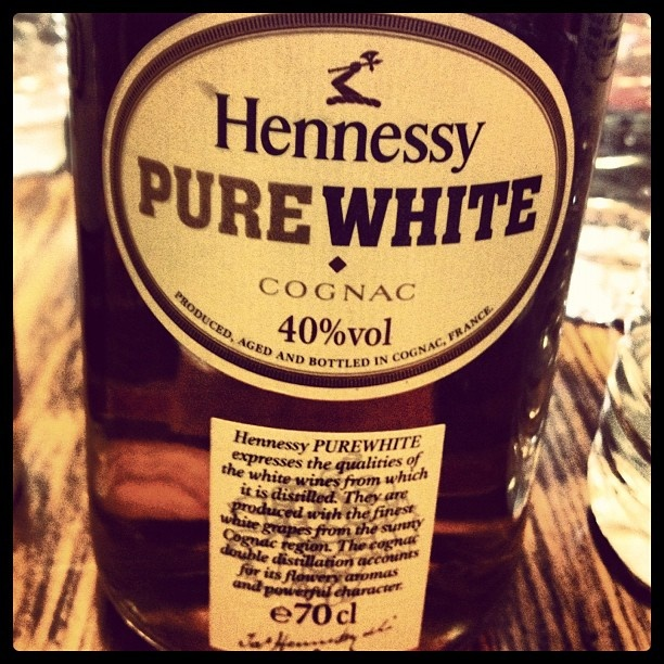 Hennessy Pure White... Because I love henn and apple juice lol