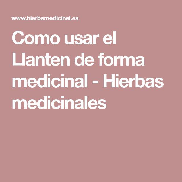 Como usar el Llanten de forma medicinal - Hierbas medicinales
