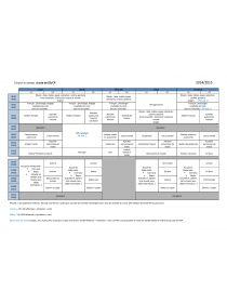 Librairie-Interactive - Emploi du temps GS/CP (nouveaux rythmes)