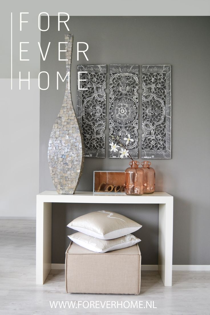 Console Table Decor | For Ever Home.