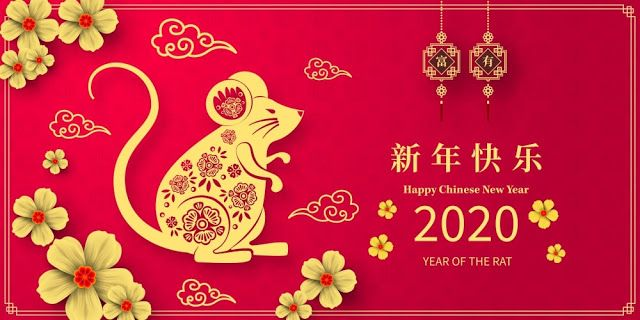 Year Of The Rat Chinese New Year 2020 Images Poetry Club In 2020 Chinese New Year Images Chinese New Year 2020 Happy Chinese New Year