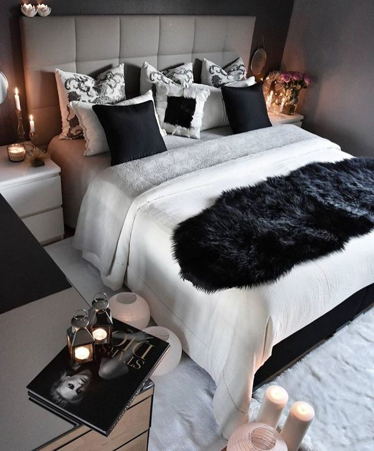 Soft greys and black with soft lighting