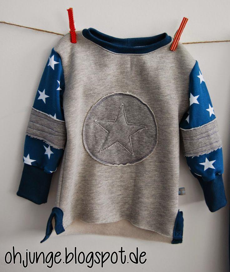 86 besten a_Nähen - Kinderpullis und -shirts Bilder auf Pinterest ...