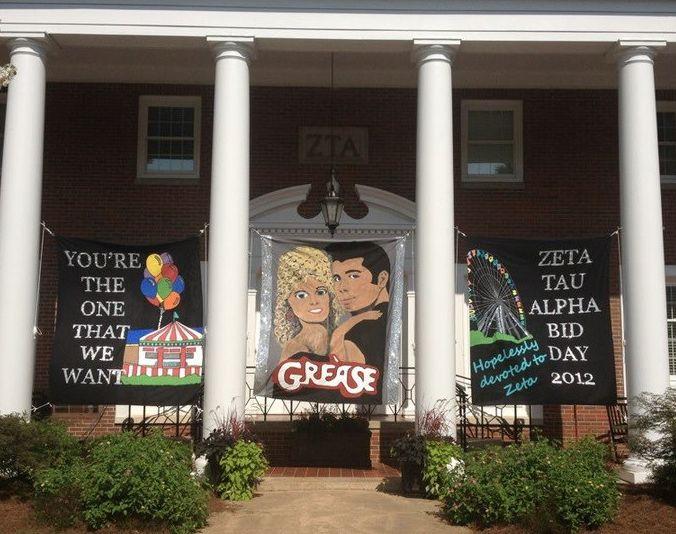 ZTA bid day ~ grease theme!