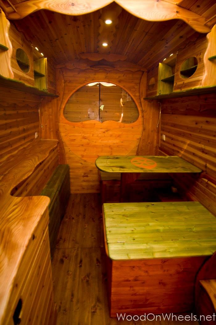 This Is The VEDUNA Campervan Converted By Dipa Vasudeva Das Its A Large Van Conversion