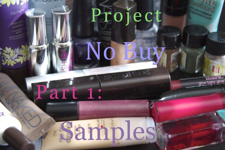 Project No Buy Part 1 – Samples