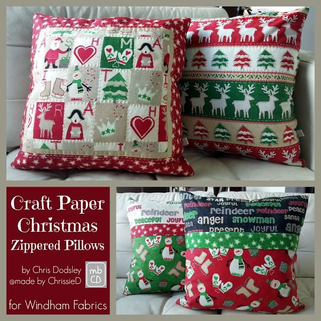 made by ChrissieD: Windham Fabrics - Christmas in July 2016 \u0026 Giveaway