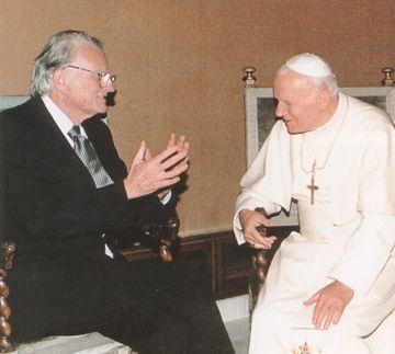 Billy Graham e la Chiesa Cattolica Romana
