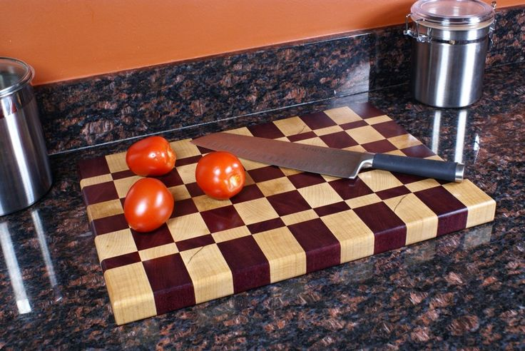 How to make a fancy butcher block style end-grain …