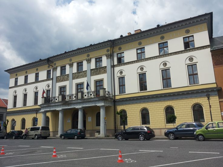 The Large Provincial House, Levoča, Slovakia