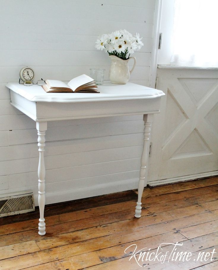 17 best ideas about half table on pinterest singer table entryway decor and hallway decorating - Half table entryway ...