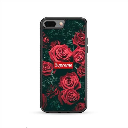 supreme roses 2 iphone 8 plus case caserisa iphone8plus, cases