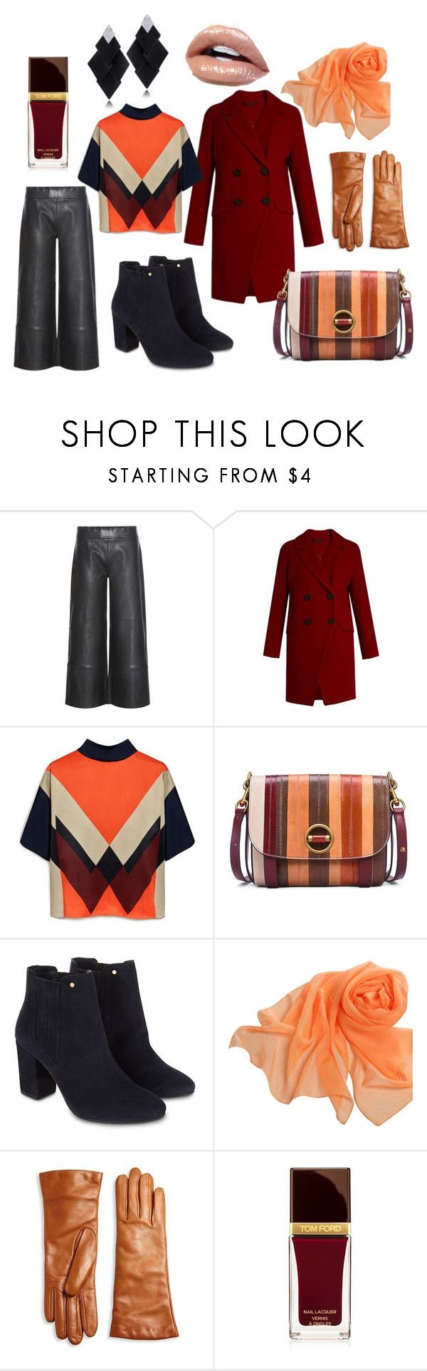 """Осенний шик"" by evavendoc on Polyvore featuring мода, STOULS, Diane Von Furstenberg, Mulberry, Tory Burch, Monsoon, Saks Fifth Avenue Collection, Tom Ford и Roberto Demeglio"