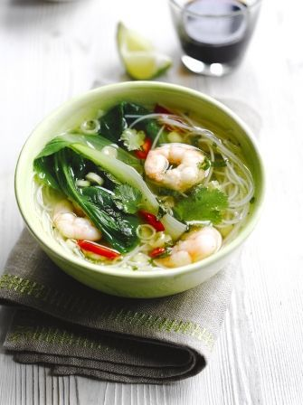 An easy to make, delicious simple seafood noodle soup recipe is the ultimate midweek comfort food, bursting with fragrant Asian flavours.