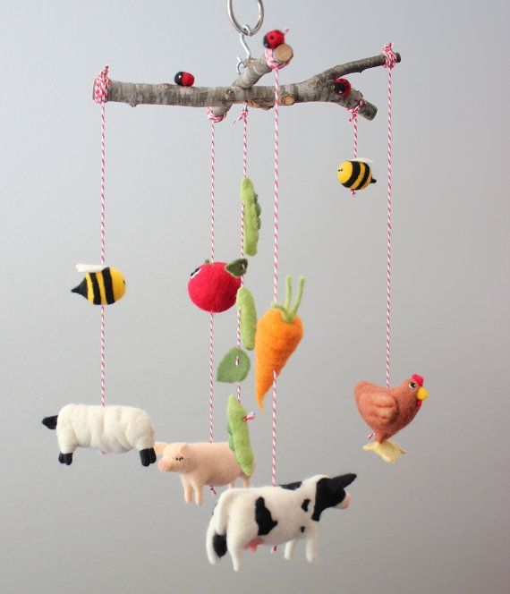 Hey, I found this really awesome Etsy listing at https://www.etsy.com/listing/168339119/needle-felted-farm-animal-vegetable