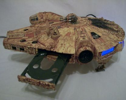 Star Wars Millennium Falcon Xbox 360 mod COOL!