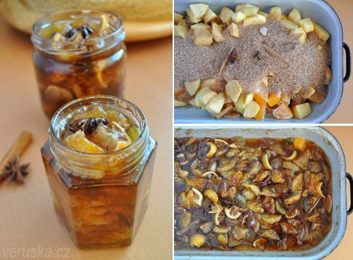 MN: Baked tea. I just love it - espacially pears and apple version with plums
