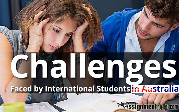 Know about the main challenges the international students face when they land in Australia to complete their higher education. Learn all the respective remedies too. http://bit.ly/1mhTDb4