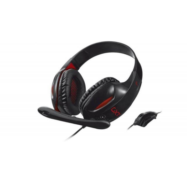 Trust GXT 330 XL Endurance Gaming Black - Gamer fejhallgató nagy, puha fülpárnákkal és erős basszussal. PC és konzol kompatibilis.