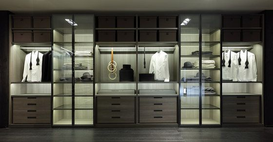 Cupboards | Storage-Shelving | Fitted | Poliform | Rodolfo.