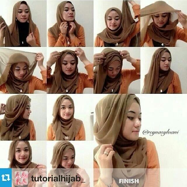 Al Humairah Contemporary #hijab tutorial # shawl lover