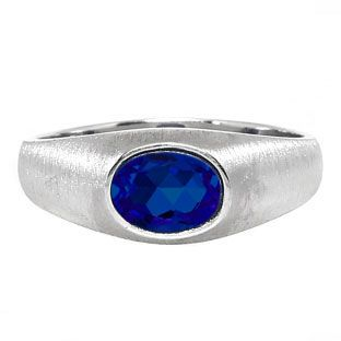 East-West Oval Cut Sapphire White Gold Pinky Ring For Men Gemologica.com offers a unique selection of mens gemstone and birthstone rings crafted in sterling silver and 10K, 14K and 18K yellow, white and rose gold. We have cool styles including wedding and engagement rings, fashion rings, designer rings, simple stone and promise rings. Our complete jewelry collection of gemstone rings for men can be seen here: www.gemologica.com/mens-gemstone-rings-c-28_46_64.html
