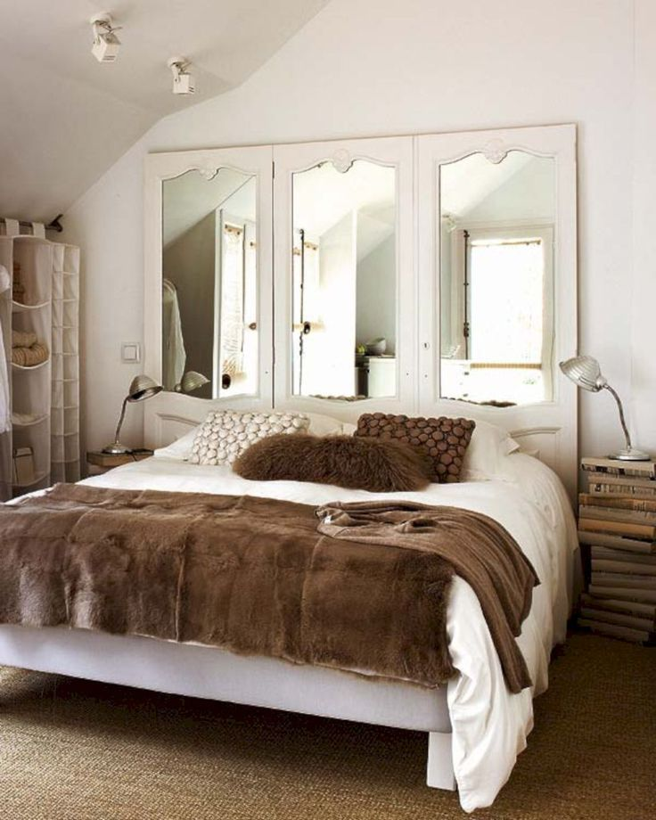 Best 25+ Mirror headboard ideas on Pinterest | Glam bedroom, Mirror  furniture and Grey bedrooms