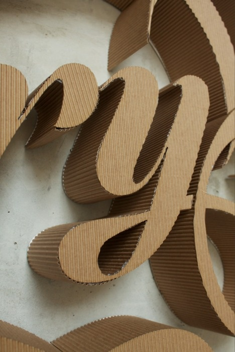 cardboard letters diy best 20 cardboard letters ideas on zoe letras 17850