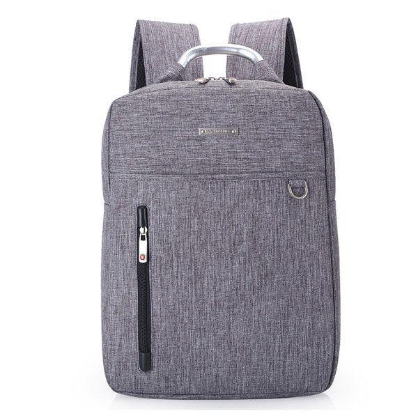 15inch Men Women Unisex Laptop Backpack Nylon Business Knapsack - US$30.64