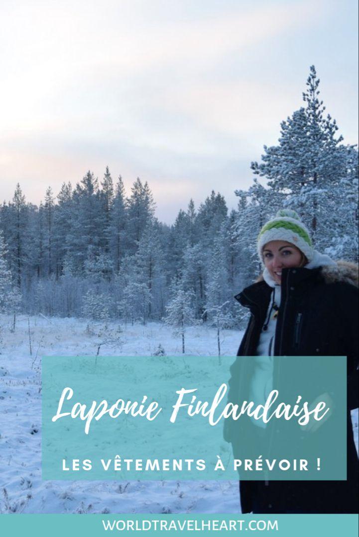 Comment s'habiller en Laponie finlandaise ? Les vêtements à