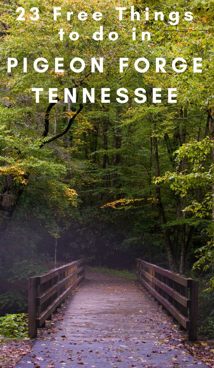 Visiting the Smoky Mountains? The Pigeon Forge area is absolutely beautiful! There are also 23 free things to do in Pigeon Forge Tennessee! #tennessee #OurRoamingHearts #smokymountains #freethhingstodo