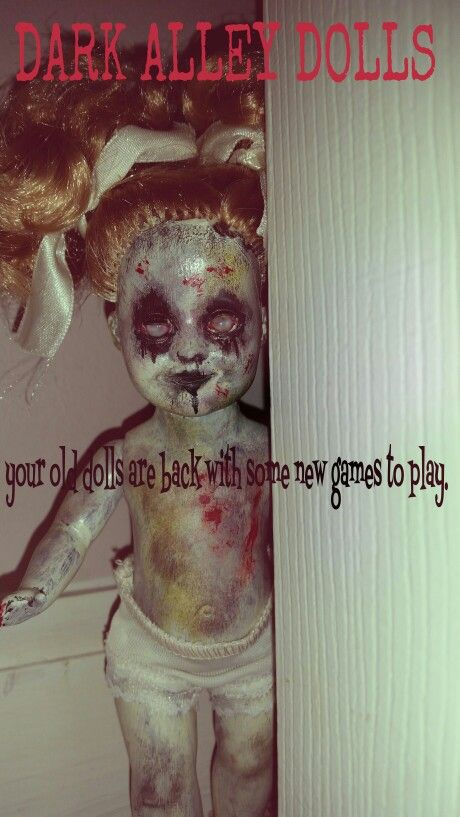 Doll Twelve - Dark Alley Dolls