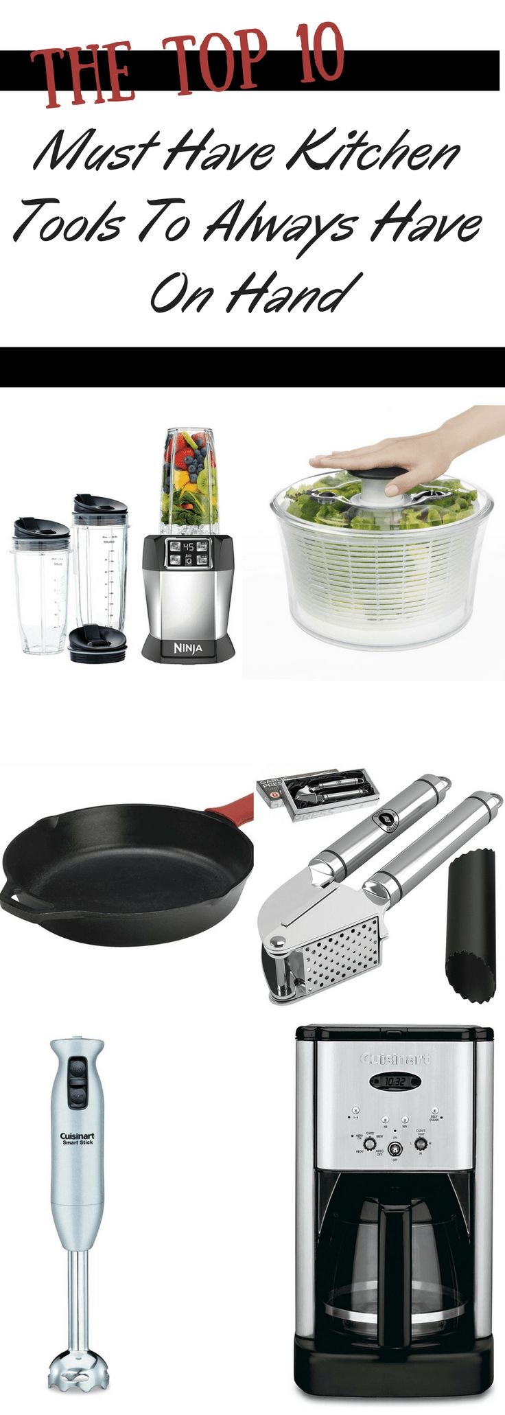 10 Kitchen And Home Decor Items Every 20 Something Needs: The Top 10 Must Have Kitchen Tools To Always Have On Hand