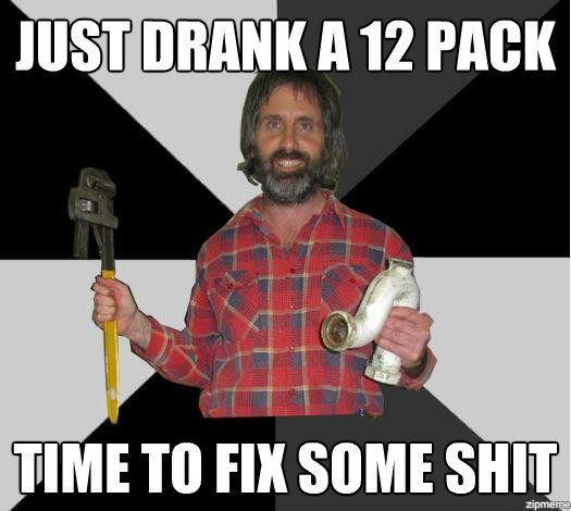 The Inebriated Handyman