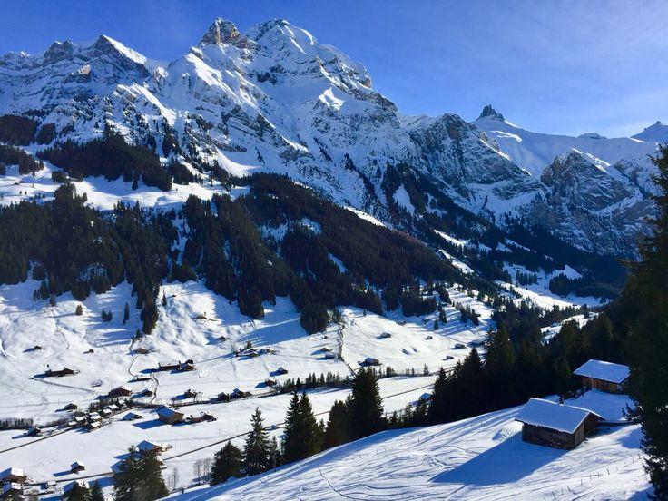 Adelboden. Schweiz