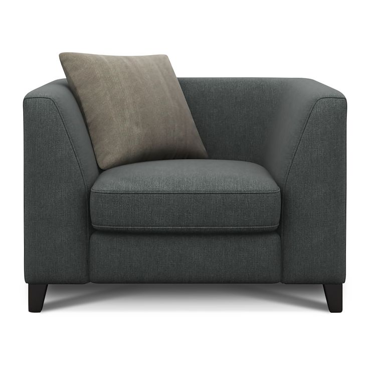 Milly Fabric Armchair Gracelands Granite