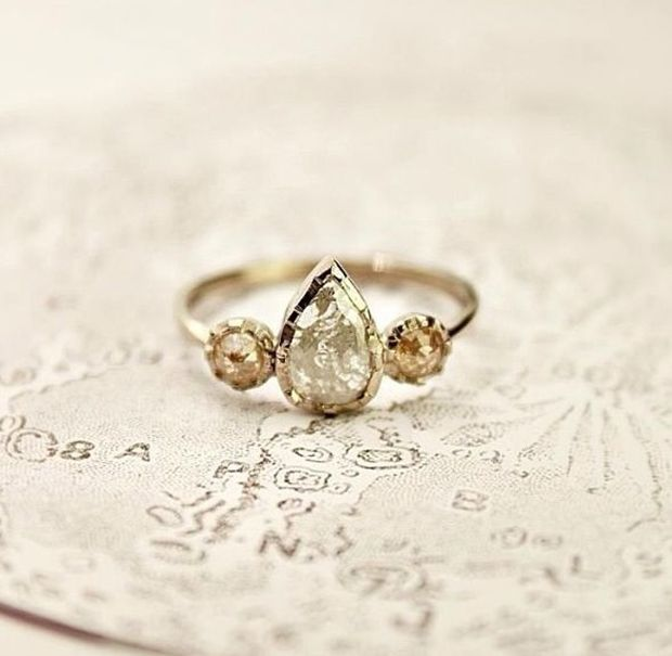 The 25 best ideas about Teardrop Engagement Rings on Pinterest