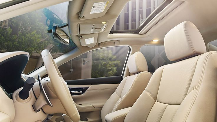 The new 2016 Nissan Altima's interior style, comfort, and quality materials are there to remind you, Altima puts a premium on making you comfortable.