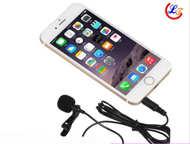 Lapel Stereo Condenser Mobile Phone Microphone Lavalier Microfone for iPhone for Samsung etc Phone 3.5mm Jack Mikrofon 1.5m Line