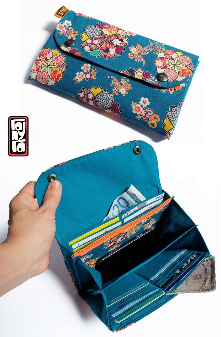 Oltre 25 fantastiche idee su portafoglio con cerniera su - Porta tessere e banconote ...