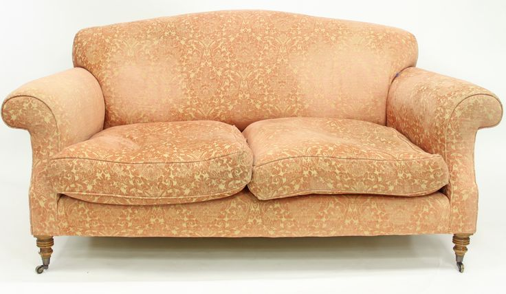 A pair of upholstered two-seater sofas by Beaumont and Fletcher SOLD for £1,900 @chorleys