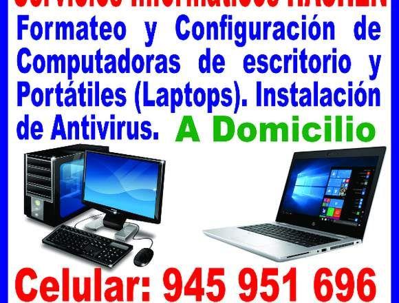 Formateo De Computadoras Y Laptops A Domicilio Lima Reparacion De Computadoras Computadoras Reparacion Y Mantenimiento