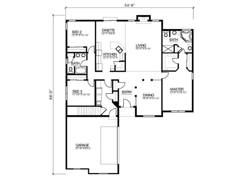 Best 10+ Custom floor plans ideas on Pinterest | House design ...