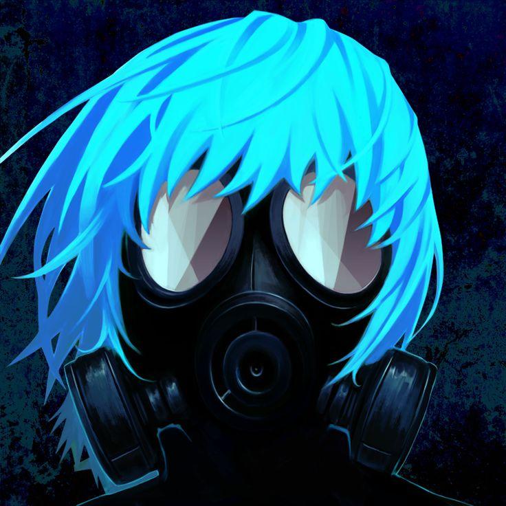 Anime In Mask: 31 Best Anime Girls Gas Masks Images On Pinterest