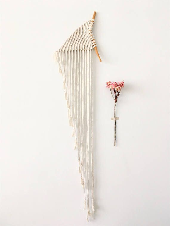 Colgante Macrame, arte fibra, arte de la pared, tapices de pared, macrame moderno, decoración de la pared, hogar y vida, decoración para el hogar, bohochic, boho del colgante de pared, ooak ------------------------------------- Cuando el arte cumple con arte. Este único de un colgante de