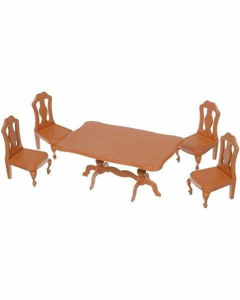 ABtoys ABtoys, Набор Счастливые друзья мебель для столовой
